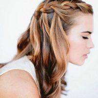 idées Coiffure Cheveux longs et tresses
