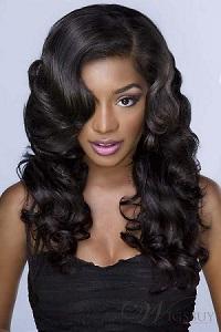 La diversité de la coupe de cheveux long femme