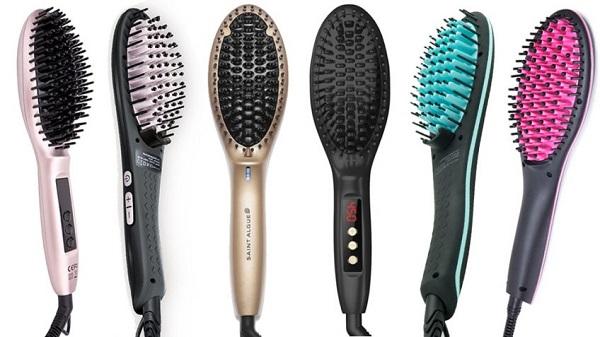 brosse lissante appareils de coiffure